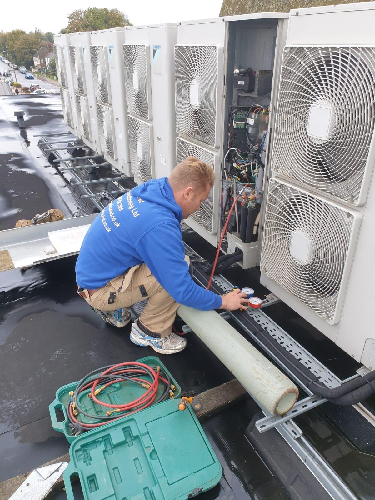 Subcooled boiler repairs