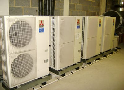 Warehouse air conditioning